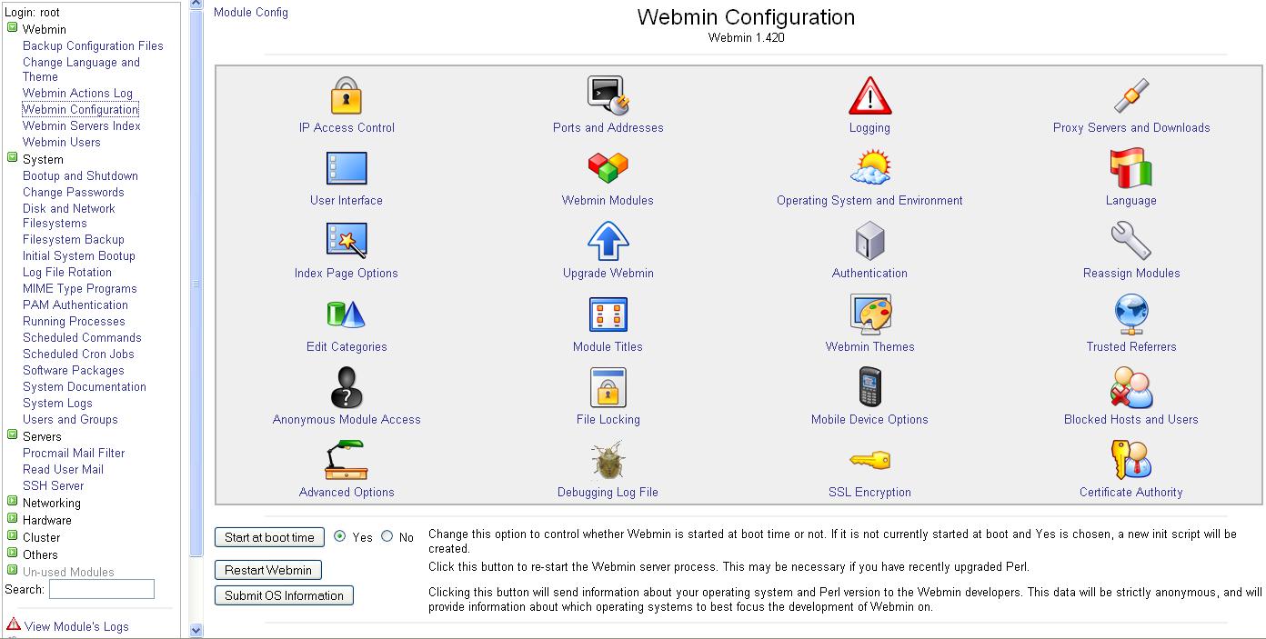 Install Webmin – Bash Script