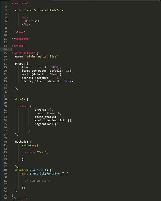 Add VUE syntax highlighting support to Sublime Text 3